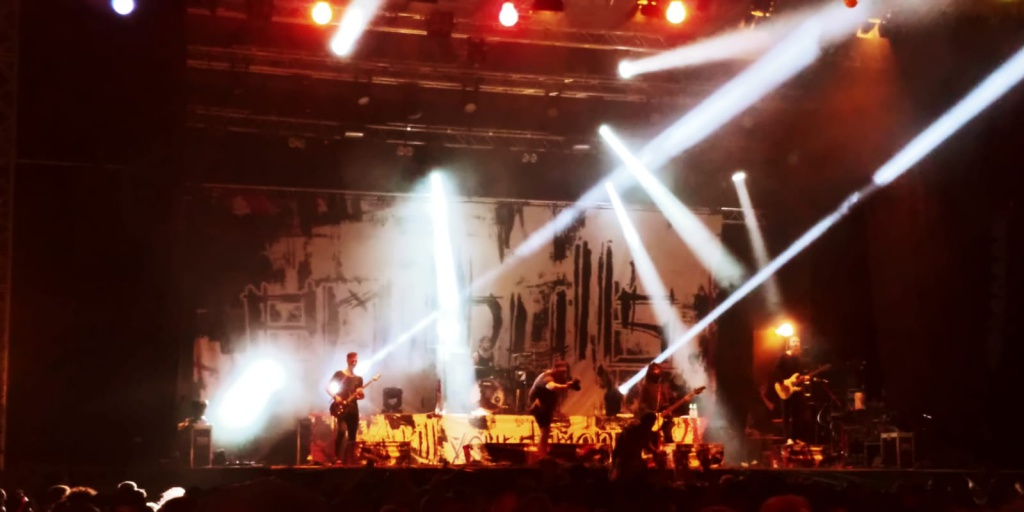 Emil Bulls beim 24. Altheimer Open-Air 2018