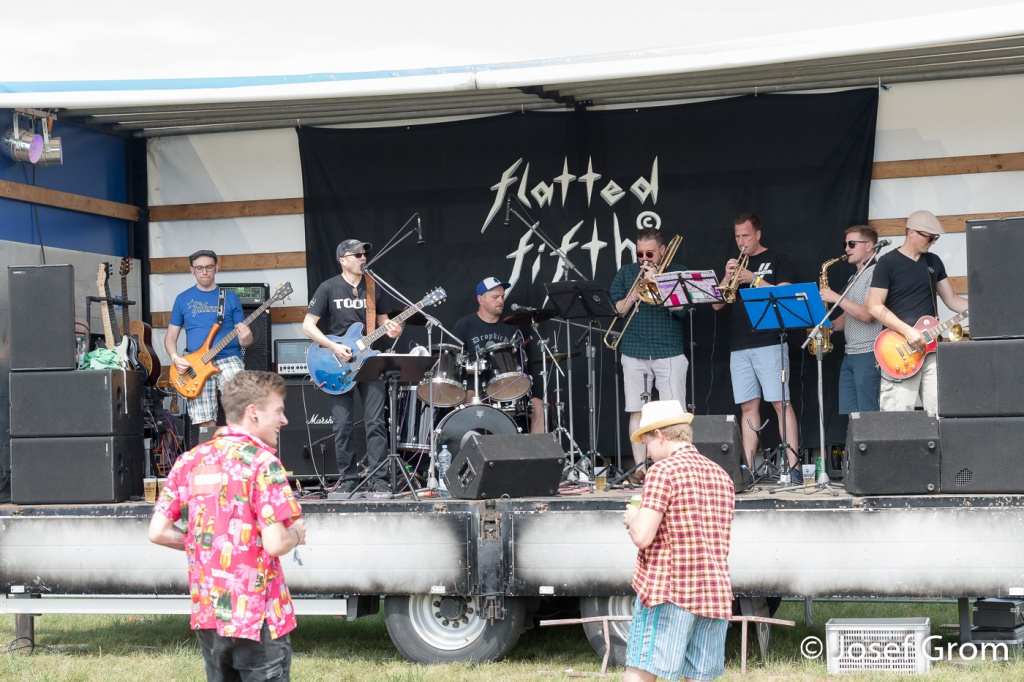 Flatted Fifth beim 25. Altheimer Open-Air 2019 by Josef Grom