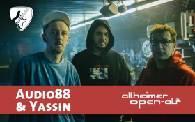 Audio88 & Yassin beim 26. Altheimer Open-Air